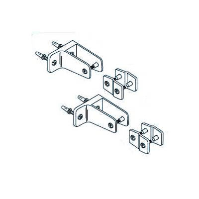 Alcove Hardware Kit One Ear for Steel Partition
