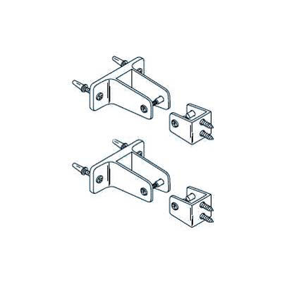 Mid Panel to Wall and Panel to Pilaster Bracket Kit for Steel Partition