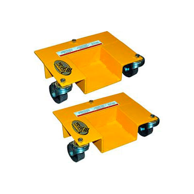 Pallet Rack Mover Dollies - 1 Pair