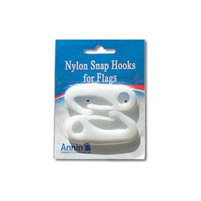 Nylon Snap Hooks for Flags, 2 pack