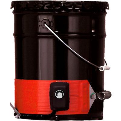 Briskheat Silicone Rubber 5 Gallon Steel Pail Heater 120V