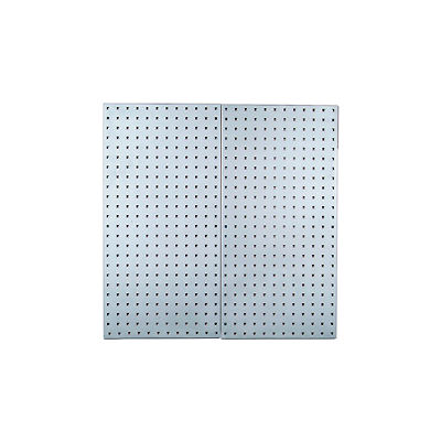 """Stainless Steel Square Hole LocBoard 18"""" x 36"""" (2 Pack)"""