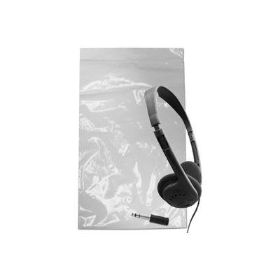 "Stereo Headphones With 1/8"" Plug, Foam Earpads & Adaptor"