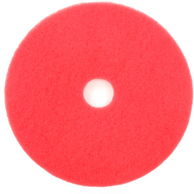 """20"""" Red Buffing Pad - 5 Per Case"""