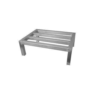 "PVI, SDR1824-8, Aluminum Straight Leg Dunnage Rack 24""W x 18""D x 8""H"
