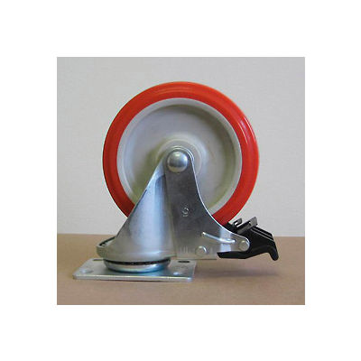 """5"""" Polyurethane Swivel Caster with Total Lock 5125PPY-S-TL for Little Giant® Carts"""