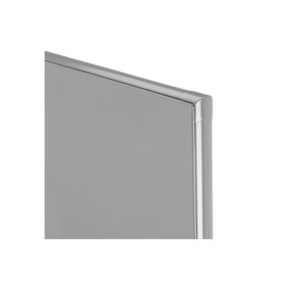 """Polymer Partition Panel - 54-3/4"""" W x 55"""" H Gray"""