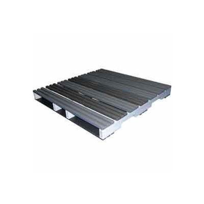 Rackable Extruded Plastic Pallet 48x48 4-Way Entry 2000 Lb Fork Capacity