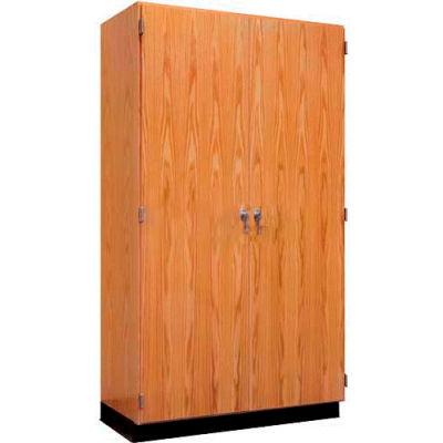 "Diversified Woodcrafts Wood Storage Cabinet - 48""W x 22""D x 84""H"