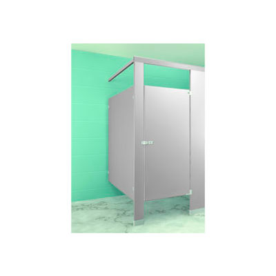 """Complete In-Corner ADA Approved Compartment - Right Side 60""""W x 61-1/4""""D Gray"""