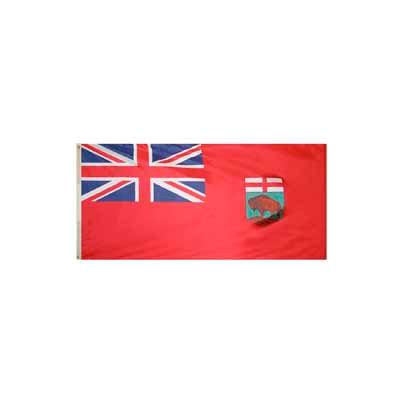 3 x 6 ft Nylon Manitoba Flag