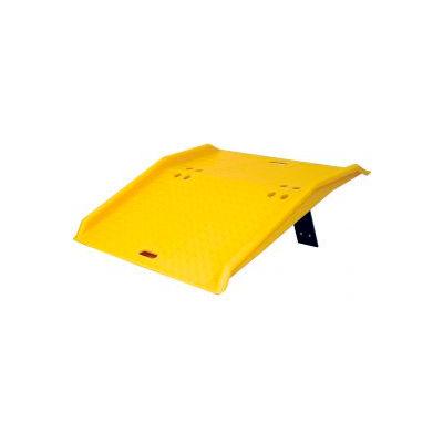 "Eagle 1797 Portable Plastic Dock Plate for Hand Trucks - 36""L x 48""W x 5""H 750 Lb. Capacity"