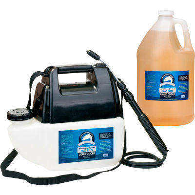 Bare Ground Battery Powered Liquid Ice Melt System W/ 1 Gallon of Deicer - BGPS-1