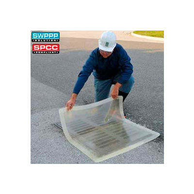 "UltraTech 2200 Ultra-Drain Seal®, Clear, Square, 18"" x 18"""