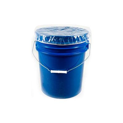 Global Industrial™ 5 Gallon Pail Elastic Dust Cover 4 mil 100 per Case - Pkg Qty 100