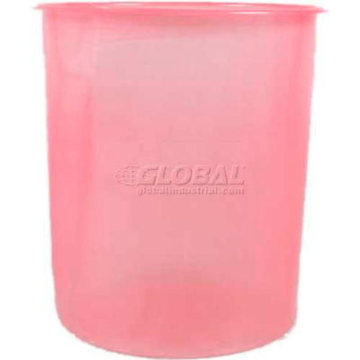 Protective Lining Corp. VL5LAS 5 Gallon Low Density Smooth Antistatic Pail Insert 15 ml - Pkg Qty 100