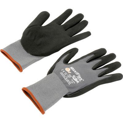 PIP MaxiFlex® Ultimate® Nitrile Coated Knit Nylon Gloves, Large, 12 Pairs