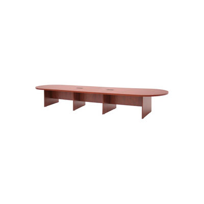 """Regency Oval 192"""" x 52"""" Conference Table Cherry - Legacy Series"""