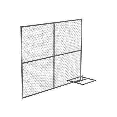 Galvanized Construction Barrier, Add-On Unit