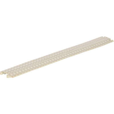 Molded Rubber Hose & Cable Ramp and Protector, Beige