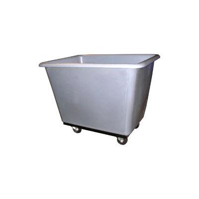 Bayhead Products Gray Poly Box Truck 4 Bushel Capacity