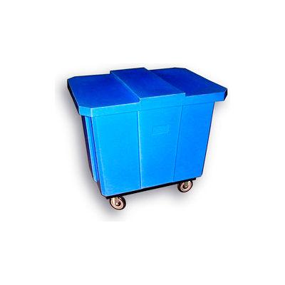 Bayhead Products Blue Poly Box Truck 12 Bushel Capacity