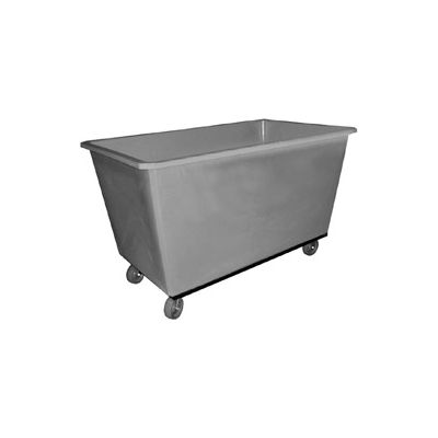 Bayhead Products Gray Poly Box Truck 15 Bushel Capacity