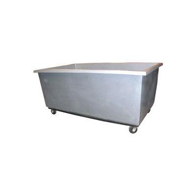 Bayhead Products Gray Poly Box Truck 40 Bushel Capacity
