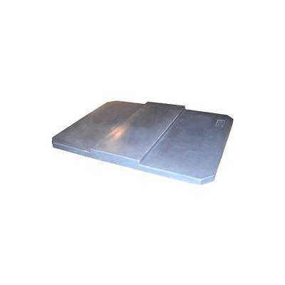 Optional Gray Lid for Bayhead Products Poly Box Truck 14 Bushel Capacity