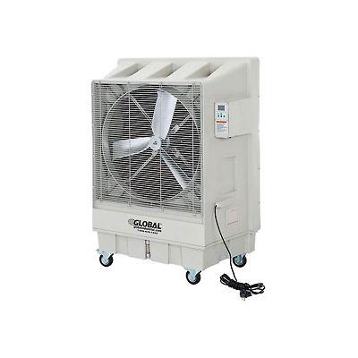 "30"" Evaporative Cooler  - Direct Drive - 3 Speed - 15.8 Gal. Cap. - 120V"