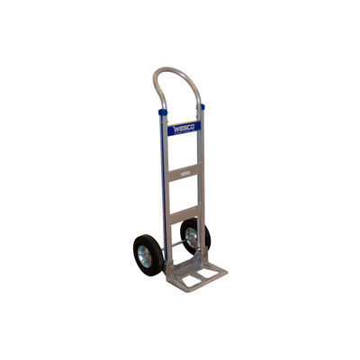 Wesco® Cobra-Lite Aluminum Hand Truck 220321 Continuous Handle Semi-Pneumatic