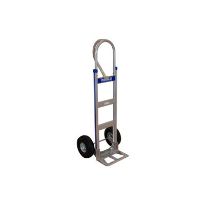 Wesco® Cobra-Lite Aluminum Hand Truck 220378 Loop Handle Pneumatic