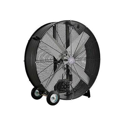 "42"" Drum Blower Fan - Portable - Belt Drive - 17600 CFM - 1 HP"