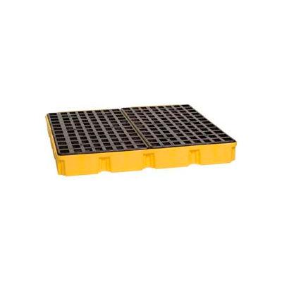 Eagle 1635 4 Drum Modular Spill Platform Unit - Yellow with No Drain