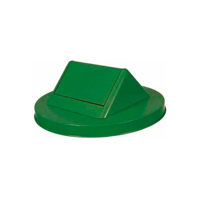 Steel Swing Lid for Mesh Garbage Can - Green - SWT55GN