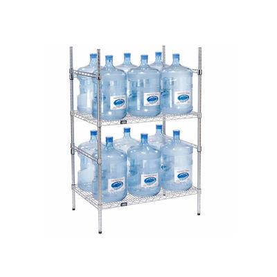 5 Gallon Water Bottle Storage Rack, 12 Bottle Capacity