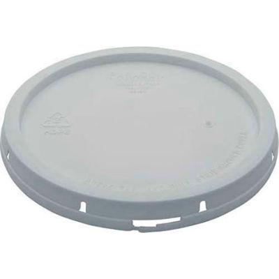 Tear-Tab Lid LID-2-PWT for 2 Gallon Open Head Pail - White
