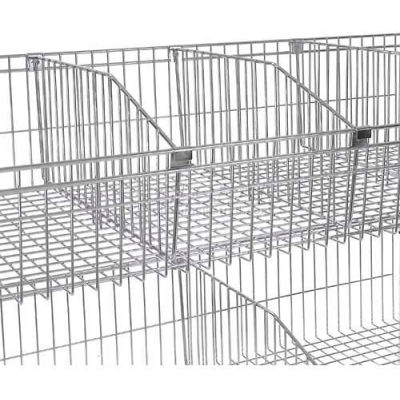 Nexel® Wire Shelf Basket Divider, 18""
