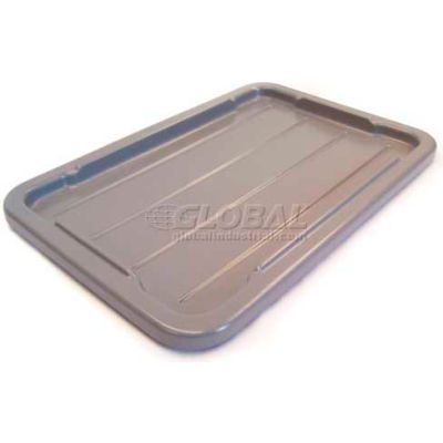 """Tote-Alls Lid For Tote Container 28-1/2""""L X 19""""W,  Gray - Pkg Qty 10"""