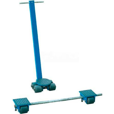 Steerable Machinery Moving Skate Roller Kits 6 Ton Capacity