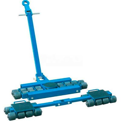 Steerable Machinery Moving Skate Roller Kits 24 Ton Capacity
