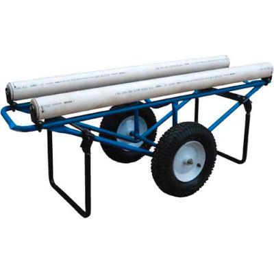 Portable Carpet Dispenser Cart CARPET-D with Pneumatic Casters 500 Lb.