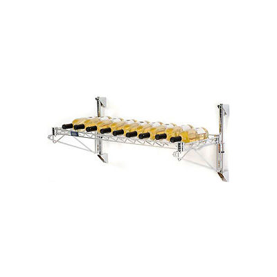 """Wine Bottle Rack - Wall Mount 9 Bottle 36"""" x 14"""" x 14"""""""