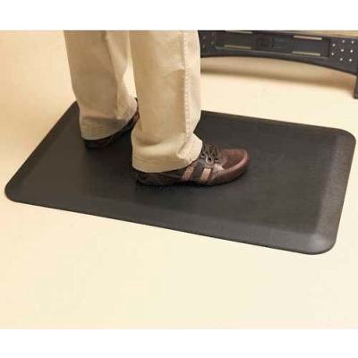 "NewLife™ Eco-Pro Anti-Fatigue Mat, 36""x60"", Black"