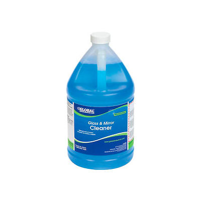 Global Industrial™ Glass & Mirror Cleaner, Gallon Bottle, 4 Bottles