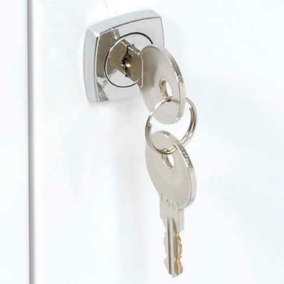 Replacement Lock Set With Keys for Global Industrial™ Medicine Cabinet Model 269940