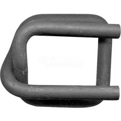 "Strapping Buckles Phosphate Coated For 1-1/2"" Woven Cord Strap, 250 Pack"