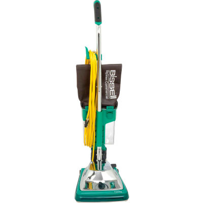 """Bissell BigGreen Commercial ProCup™ Upright Vacuum w/Dirt Cup, 12"""" Cleaning Width"""