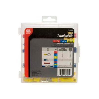 Gardner Bender TK-806 100 Piece Terminal Kit w/Reusable Storage Case