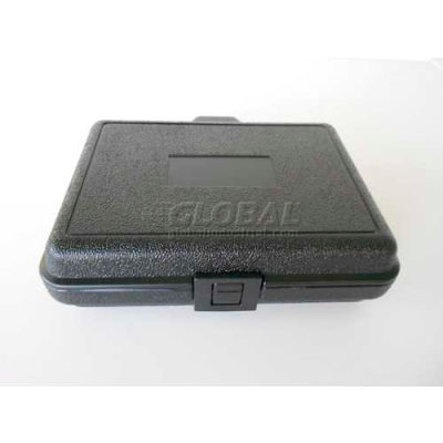 """Plastic Protective Storage Cases with Pinch Tear Foam, 10""""x7-1/2""""x2-3/4"""", Black"""
